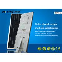 IP65 Outdoor 80W Smart Solar Street Light Can Last 7 Rainy Days Manufactures