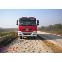 Rotatable Structure Fire Fighting Vehicles Pump Flow 90L/S Max Power 276KW Manufactures