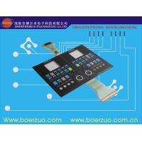 Quality Adhesive PC Membrane Sticker , PET Eco-friend Membrane Switch Stickers for sale