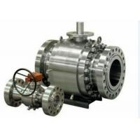 Forged Steel Cast Steel Ball Valve , Trunnion Mounted Ball Valve Manufactures
