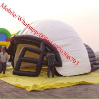 Inflatable helmet tent for sports Manufactures