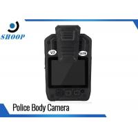 """2.0"""" LCD Small Police Officers Wearing Body Cameras 1296P Motion Detection Manufactures"""