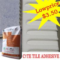 Heat Proof Exterior Tile Cement Based Adhesive For Swimming Pool , High Strength Manufactures