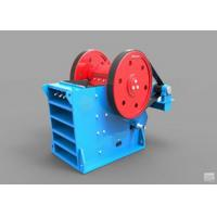 V - Type Jaw Crusher Machine Deep Crushing Chamber Electrical Motor Drive Manufactures