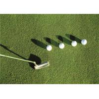 Autumn Spring Sport Putting Green Artificial Golf Grass With Shock Pad Grassland Manufactures