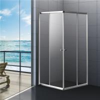 Quality Bathroom Sliding Shower Enclosure 800 x 800 ,  2 Years Warranty for sale