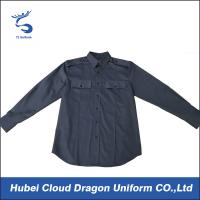 7 button placket cotton poly twill combat shirts military tactical shirt Manufactures