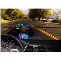 3.5 Inch Screen Heads Up Speed Display Audi A2 GPS Satellite Speed Alarm Compass Manufactures