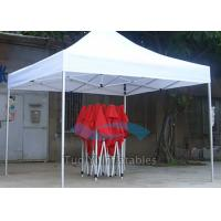 Nylon Outdoor Trade Show Tent Collapsible 10Ft X 10Ft Canopy Rusty Resistance Manufactures