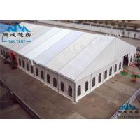 Outside Rot Proof Large Party Tents , Colorful Cover Church Tents For Donation Manufactures