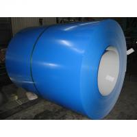 Buy cheap GB / T 2518 Cold Rolled Galvalume Color Steel Coil 0.5mm , 40 - 180g / m2 from wholesalers