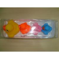 Quality 4 Light Up Bath Ducks Illuminating Color Changing ATBC-PVC rubber material for sale