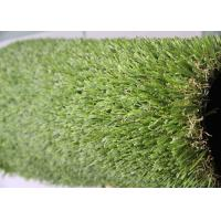 25MM Pile Height Indoor Artificial Grass S Shape Landscaping Artificial Turf Manufactures