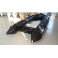1.2mm PVC Military Attack Boats For Patrol , Black Color Aluminum Floor Manufactures