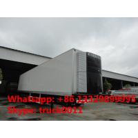 40 foot tri-axle mobile refrigerated cargo container trailer, best price factory sale45tons freezer van semitrailer Manufactures