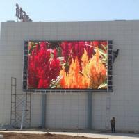 Waterproof P10 Outdoor Led Display Signs 6000-6500 Nits Brightness Constant Drive Manufactures