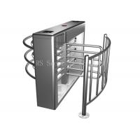 304 Grade Ss Outdoor Half Height Turnstile Security Products For Stadiums Manufactures
