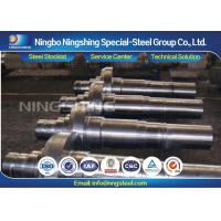 Customized 4140 / 42CrMo4 / 1.7225 Steel Forging Parts Forged Shaft Manufactures