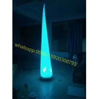 Quality colorful inflatable cone for sale for sale