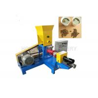 0.4KW Cutting Power Floating Fish Pellet Machine Powder Raw Material Type Manufactures