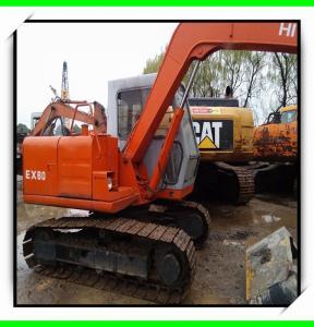 China 1995 ex160  hitachi used excavator for sale 07m3  track excavator isuzu engine minit excavator on sale