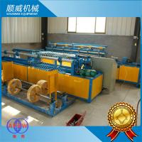 ISO9001 Certification Chain Link Fencing Machine Weaving Opening 25mm - 100mm Manufactures