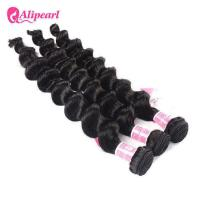Loose Deep Wave Brazilian Human Hair Bundles 8A Virgin Remy Hair Weave Manufactures