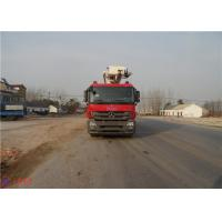 Quality Water Capacity 4800kg Water Tower Fire Truck Max Loading 23700Kg With With Fully Hydraulic Drive for sale