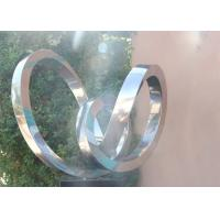 Modern Abstract Polished Stainless Steel Outdoor Metal Sculptures Manufactures