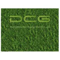 PE Beautiful Artificial Grass For Pets , Dog Friendly Fake Grass Olive Shape Manufactures