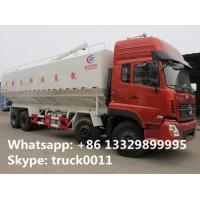 Factory direct sale dongfeng brand 20tons hydraulic system discharging bulk feed truck with cheapest price , feed truck Manufactures