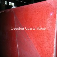 cheap prices artificial quartz rose red quartz stone Manufactures