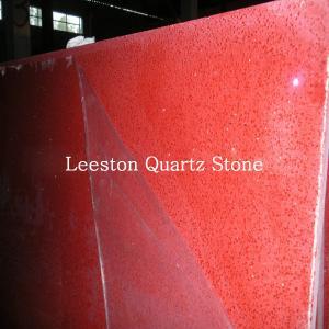 Quality cheap prices artificial quartz rose red quartz stone for sale
