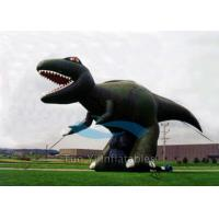 Giant Dinosaur Inflatable Cartoon Characters 4M Height For Exhibitions Manufactures