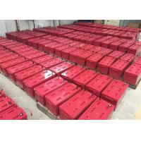 Red M8 Front Terminal Battery For Digital Channel Station , 12v180ah Capacity Manufactures