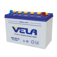 Dry Charged Car Battery - NX120-7/NX120-7L/12V80ah Manufactures