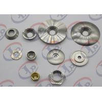 Brass CNC Turned Parts , Small Nuts And Washers With Different Types Manufactures