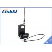 Small  Video HD Wireless Transmitter Device NLOS 1-2 KM Low Weight Manufactures