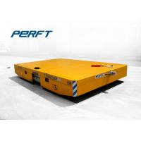 Rubber Wheel Battery Power Material Loading Equipment Electric Transfer Cart For Industrial Manufactures