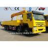 Sinotruk 8x4 LHD RHD 336hp Telescopic Boom Lorry Crane Truck Euro 2 20 Ton 30 Ton Manufactures
