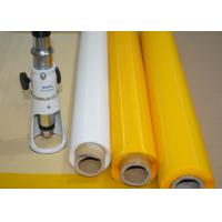 Low Elasticity 102 Inch Polyester Bolting Cloth , 110 Mesh Screen For Ceramics Printing Manufactures