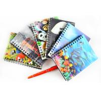 lenticular 3d notebook notepad with deep 3D effect Manufactures