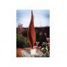 Buy cheap Flower Corten Steel Rusty Garden Sculptures For Modern Decoration from wholesalers
