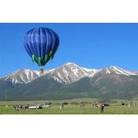 400kg Blue Commercial Inflatable Hot Air Balloon Rides Sightseeing And Manned Flight Use Manufactures