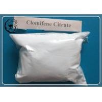 White 99% Clomid Anti Estrogen Steroids Clomifene Citrate Raw Powder Manufactures