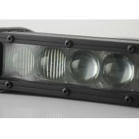 Quality Single Row 4D Offroad Vehicle LED Light Bar 5W CREE Chips 60 W Combo Beam LedBar for sale