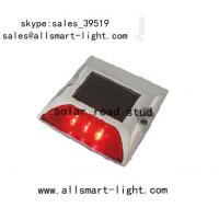 Quality Solar Road Studs ASD-007 3led Single Line Solar Road Cap Lights for sale