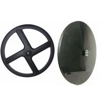 Light Weight Toray 700 Carbon Disc Wheel 3k / 12k / 18k 22MM Width With Powerway Hub Manufactures