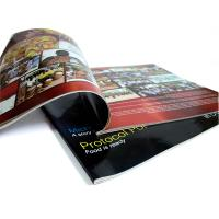Quality Glue and Sewing Binding CIS or C2S glossy art paper, matte paper Printing Trade Magazines for sale