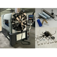 Buy cheap ISO9001 5 Axis 4.0mm Wire Spring Making Machine 17.5KW from wholesalers